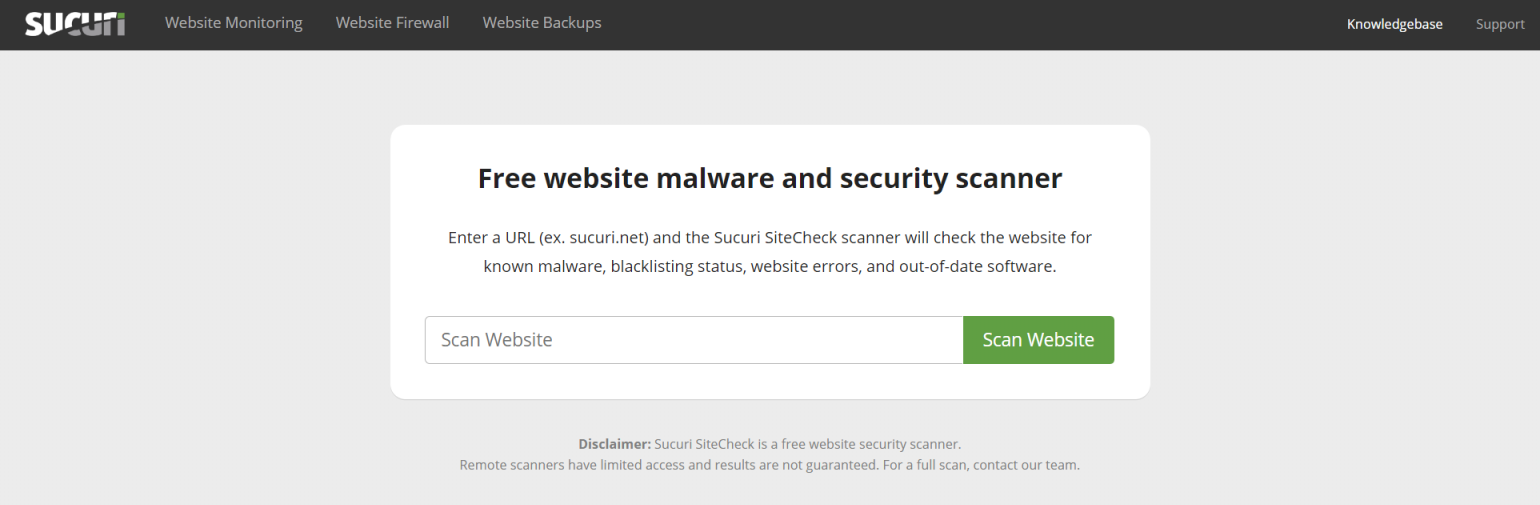Run A Website Security Checkup With These Free Tools - GOGET